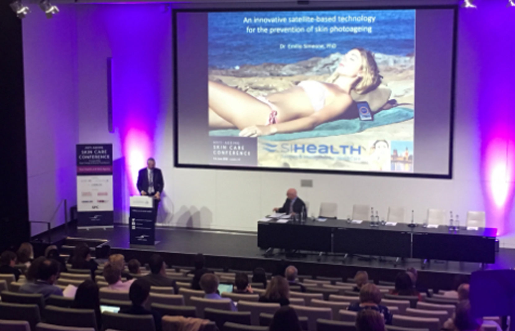 siHealth at the 6th Anti-Ageing Skin Care Conference in London